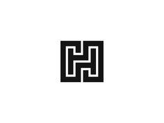 H / HH by Kakha Kakhadzen #Design Popular #Dribbble #shots