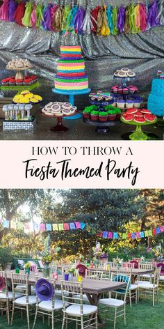 How to Throw a Fiesta Themed Party Fiesta Party Decorations, Fiesta Theme Party, Adult Birthday Party, Birthday Party Themes, Themed Parties, Girl Birthday, Adult Party Themes, Graduation Party Themes, Fiestas Party