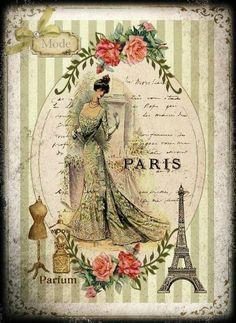 7-Victorienne1, vintage printable
