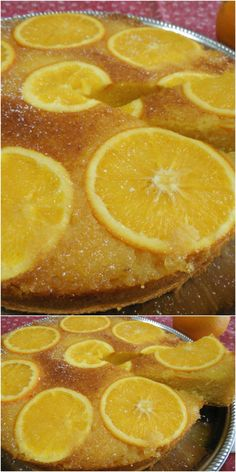 Torta all' arancia rovesciata ! #torta #arancia #rovesciata #ricettegustose
