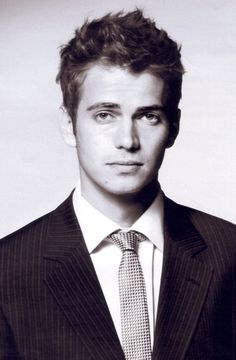 I'd go to the dark side for him, he wouldn't even have to give me cookies.  ;)  (Hayden Christensen)