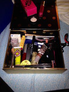 Glossybox.... Nur die dekorative Kosmetikansammlung