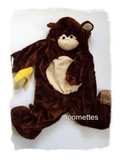 #Monkey Infant Toddler #Halloween #Costume Banana Baby Size 18 24M months 2T #kids