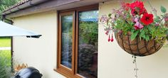 Timber Effect Windows in Axbridge, Somerset