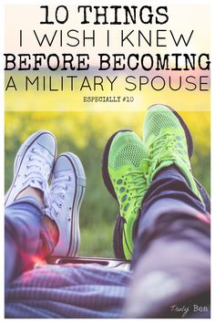10 Things I Wish I Knew Before Becoming a Milspo. Wow what an incredible article! Such a good read and I'm so glad I pinned it!! Number 10 is relatable to everyone even if you're not a military spouse.