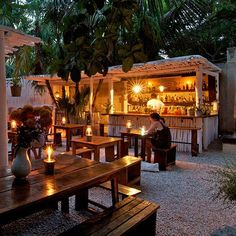 Tulum, Mexico: Hartwood  I have been told to make sure to have dinner here!