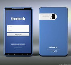 페이스북폰(Facebook Phone) 디자인 등장?!