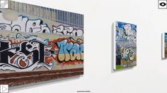 "Paintings of street art become historic documents of times gone by. ""In a King's land"" an exhibition by Rod MacLeod. Rod has been painting the vanishing scenes of #Auckland since the late 1970s.  With this series of paintings (2008/2009) he turns his focus close to his home in Kingsland and records the ever changing street art environment.  All of these paintings became historical documents when the subject matter vanished in a clean up for the 2011 Rugby World Cup.  View the exhibition…"
