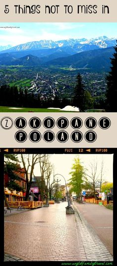 Zakopane is an amazing town in the Tatra Mountains of Southern Poland. We explore 5 things not to miss in Zakopane Travel Around Europe, Europe Travel Tips, Travel Info, European Travel, Travel Guides, Europe Destinations, Amazing Destinations, Zakopane Poland, Visit Poland