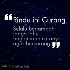 rindu ini curang | Display picture blackberry | Irham Anshar | Flickr