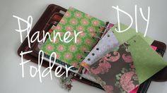 Folder Divider Tutorial DIY Franklin Covey Compact / Filofax Personal Pl...
