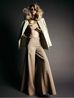 Leggy 70s Editorials - Maddie Kulicka is Retro Glam for Mateusz Stankiewicz in Pani May 2011 (GALLERY)