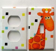 Giraffe nursery ideas