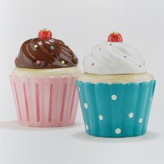 Cupcake Cookie Jars, Set of 2 | World Market