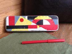 Soviet Vintage Pencils Case Metal Pencil Box Retro School