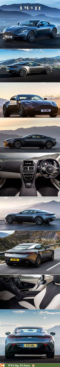 The 2017 Aston Martin DB11. God, I love this car.