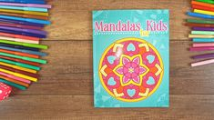 Simple and easy mandala coloring for kids. 50 simple and easy to color mandala designs for kids. The perfect coloring book to start your adventure with coloring. Easy Coloring Pages, Mandala Coloring Pages, Coloring Pages For Kids, Coloring Books, Mandala Simple, Mandalas For Kids, Mandala Pattern, Adventure, Colour Book