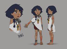 Arkavi - Character design, Jenny Harder