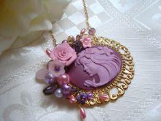 purple cameo