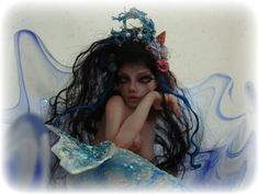 SPECIAL 1/2 DOWN COMMISSIONED ART DOLL Mermaid, Fairy your choice  by  Vicci Noel OOAK IADR