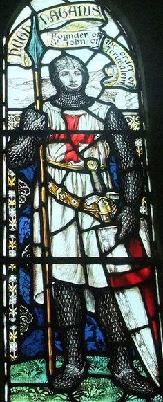 Hugh de Paganis [Hugh de Payns]  (c. 1070 – 24 May 1136),  co-founder and first Grand Master of the Knights Templar. https://en.wikipedia.org/wiki/Hugues_de_Payens