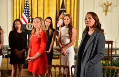USWNT at the White House. #WNTatWH