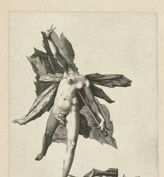 Pyramus en Thisbe, Hendrick Goltzius, 1585 - 1589 - Estampes inachevées-Collected Works of Peccadille - All Rijksstudio's - Rijksstudio - Ri...