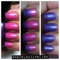 Mini Size (5 mL) Thermal nail polish - Girly Girl on Etsy, $7.07 CAD