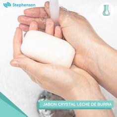 La base para jabón Crystal Leche de Burra de Stephenson contiene crema hidratante rica en vitaminas que ofrece propiedades nutritivas y rejuvenecedoras para la piel Personal Care, Base, Crystals, Vitamins, Milk, Soaps, Fur, Self Care, Personal Hygiene