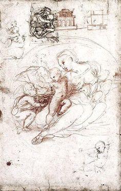 By Raphael – Madonna studies