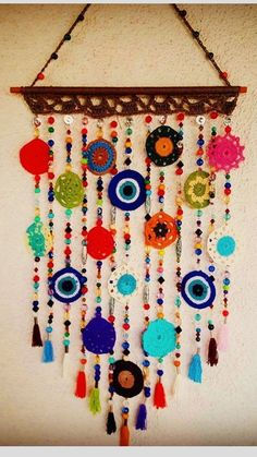 Timestamps DIY night light DIY colorful garland Cool epoxy resin projects Creative and easy crafts Plastic straw reusing ------. Crochet Decoration, Crochet Home Decor, Crochet Lace, Crochet Stitches, Crochet Designs, Crochet Patterns, Diy Arts And Crafts, Diy Crafts, Yarn Crafts