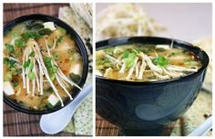 ... about Soups on Pinterest | Miso soup, Vegetable soups and Crab soup