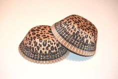 24 Leopard Cupcake Liners Cheetah Cupcake by LuxePartySupply, $1.86