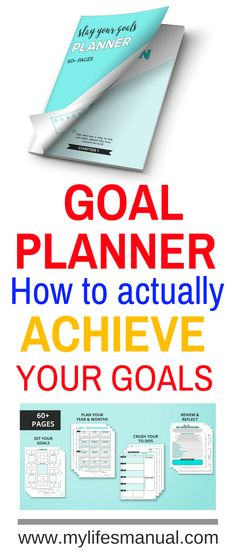 How to set goals and actually them slay your goals planner is the use a planner to set your intention and slay your goals set actionable goals and follow the blueprint that tells you how to slay malvernweather Choice Image