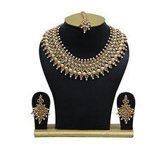 Indian Bollywood Necklace Set Traditional Bridal Wedding ... https://www.amazon.com/dp/B07B6MRGYS/ref=cm_sw_r_pi_dp_U_x_6IDSAbB2MFQ09