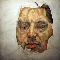 lucien freud, portrait of francis bacon