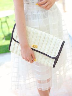 fifth ECURY カゴクラッチバッグ / Clutch on ShopStyle