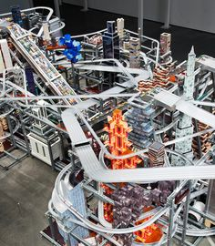 METROPOLIS II, CHRIS BURDEN  breathtaking kinetic installation is intensely captivating...