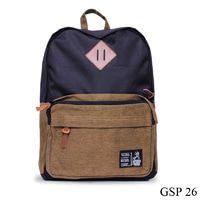 Tas Punggung Untuk Kuliah Couldura Hitam  GSP 26 L