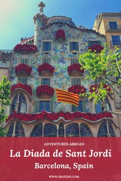 La Diada de Sant Jordi in Barcelona, Spain. A day filled with love, flowers, books and so much more! Places In Europe, Places To See, Travel Tips For Europe, Travel Plan, Adventures Abroad, Walkabout, Cadiz, Spain Travel, Plan Your Trip