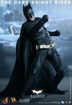 HOT TOYS THE DARK KNIGHT RISES BATMAN BRUCE WAYNE DX12 1/6 FIGURE BRAND NEW!
