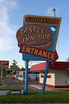 Tastee Inn & Out, long time favorite, tastee sandwich and onion chips, on North 48th