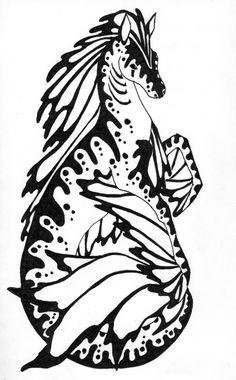 Hippocampus by ~Virdilak on deviantART