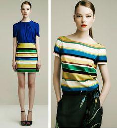 Colourful summer fashion by Zara