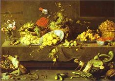 Flowers, Fruits and Vegetables - Frans Snyders