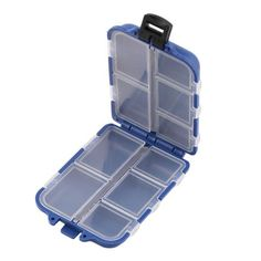 Cheap box fishing, Buy Quality fishing tackle box directly from China fishing accessories Suppliers: Fishing Tackle Box 10 Compartments Storage Case Fly Fishing Lure Spoon Hook Bait Tackle Case Box Fishing Accessories Tools Newly Fly Fishing Lures, Fishing Tackle Box, Bait And Tackle, Fly Fishing Tips, Fishing Tools, Carp Fishing, Fishing Equipment, Fishing Storage, Spoon Hooks