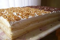 Najbolji domaći recepti za pite, kolače, torte na Balkanu Sweet Desserts, Sweet Recipes, Delicious Desserts, Cake Recipes, Dessert Recipes, Yummy Food, Brze Torte, Kolaci I Torte, Pie Cake