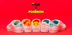 Awesome: These Fila X Pokémon Trainers Are Far Too Cool For School - Nintendo Life Pokemon, Pikachu, Too Cool For School, Adidas Stan Smith, Trainers, Nintendo, Adidas Sneakers, Baby Shoes, Kicks