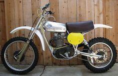 BSA : CCM 500 MX CCM 500 MX 1977 British Motocross Factory BSA Rare Vintage Works