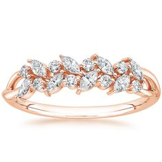 14K Rose Gold Jardinière Diamond Ring from Brilliant Earth